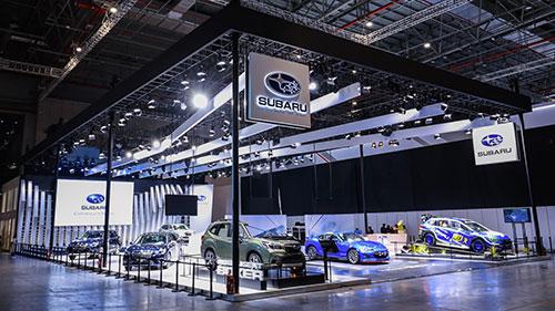 新款SUBARU BRZ发布,斯巴鲁超强阵容闪耀上海车展